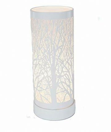 TREE Design Aroma Touch Lamp Electric Burner -  WHITE & WHITE
